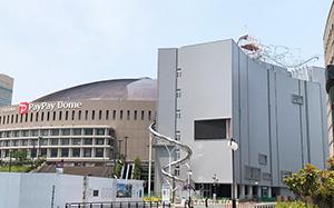 【施工例】地上50メートル!福岡の街を一望できるクライミング施設