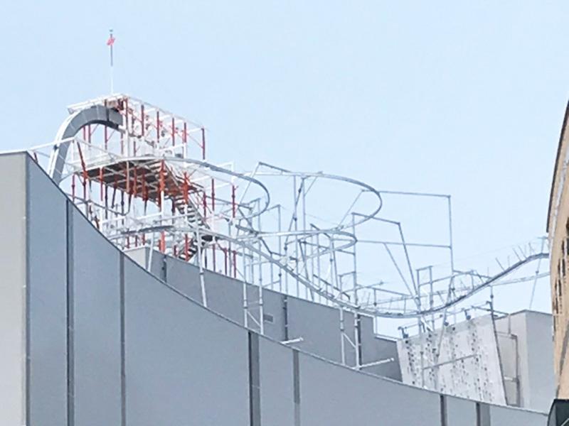 福岡ソフトバンクホークス クライミングウォール施工